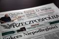 Rzeczpospolita o policjantach z Kadzid�a, kt�rzy zgubili dowody rzeczowe