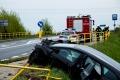 Wypadek w Ponikwi Ma�ej (zdj�cia)