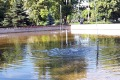 Radny prosi o kurtyny wodne i remont fontanny przy parku