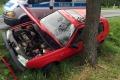 Volkswagen uderzy� w drzewo