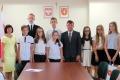 Najlepsi uczniowie z gminy Rzeku� wyr�nieni (zdj�cia)