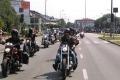 Ostro��ccy funkcjonariusze na zlocie motocyklowym (zdj�cia)