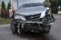 Wypadek w Obierwi (zdj�cia)