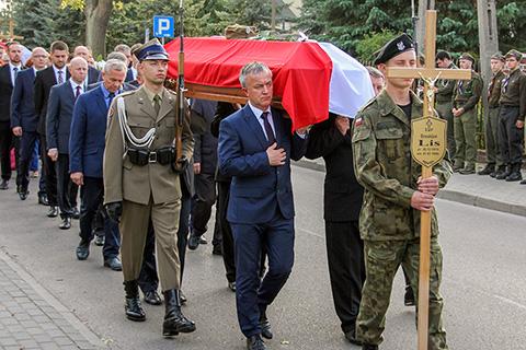 Pogrzeb pi�ciu �o�nierzy Wykl�tych (29.09.2016)