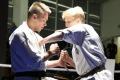 Walka karate w Kurpiowskiej Kuźni Mistrzów (wideo)