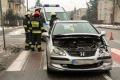 Wymuszenie pierwszeństwa na ul. Bogusławskiego (zdjęcia)