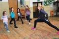 Ćwiczyli jogę w centrum kultury w Kadzidle (zdjęcia)