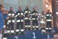 Ostrołęccy strażacy pobiegli na szczyt budynku 'Rondo 1'