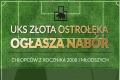 Nabór do rocznika 2008 w UKS Złota Ostrołęka
