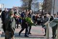Ostrołęczanie uczcili pamięć ofiar katastofy smoleńskiej (zdjęcia) - szkic