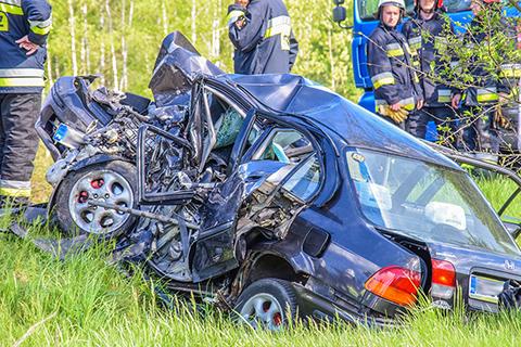 Śmiertelny wypadek w Łodziskach