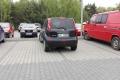 Kolejny mistrz parkowania - szkic