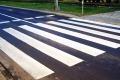 Malowanie pasów na ostrołęckich ulicach - dziś