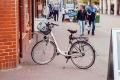Rowerowa mistrzyni parkowania
