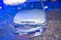 Volvo w rowie, kierowca zniknął (zdjęcia)
