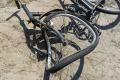 Nietypowy wypadek z udziałem pijanego rowerzysty