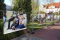 Wystawa plenerowa na placu Bema (zdjęcia) - szkic