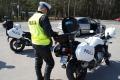 Policja apeluje do motocyklistów o rozwagę - szkic