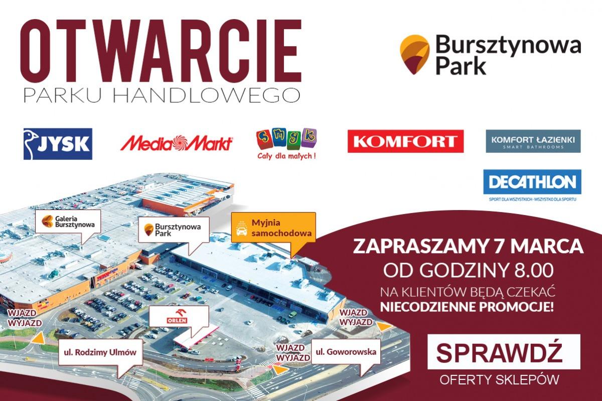 Znamy Promocje Na Otwarcie Bursztynowa Park Moja Ostrołęka