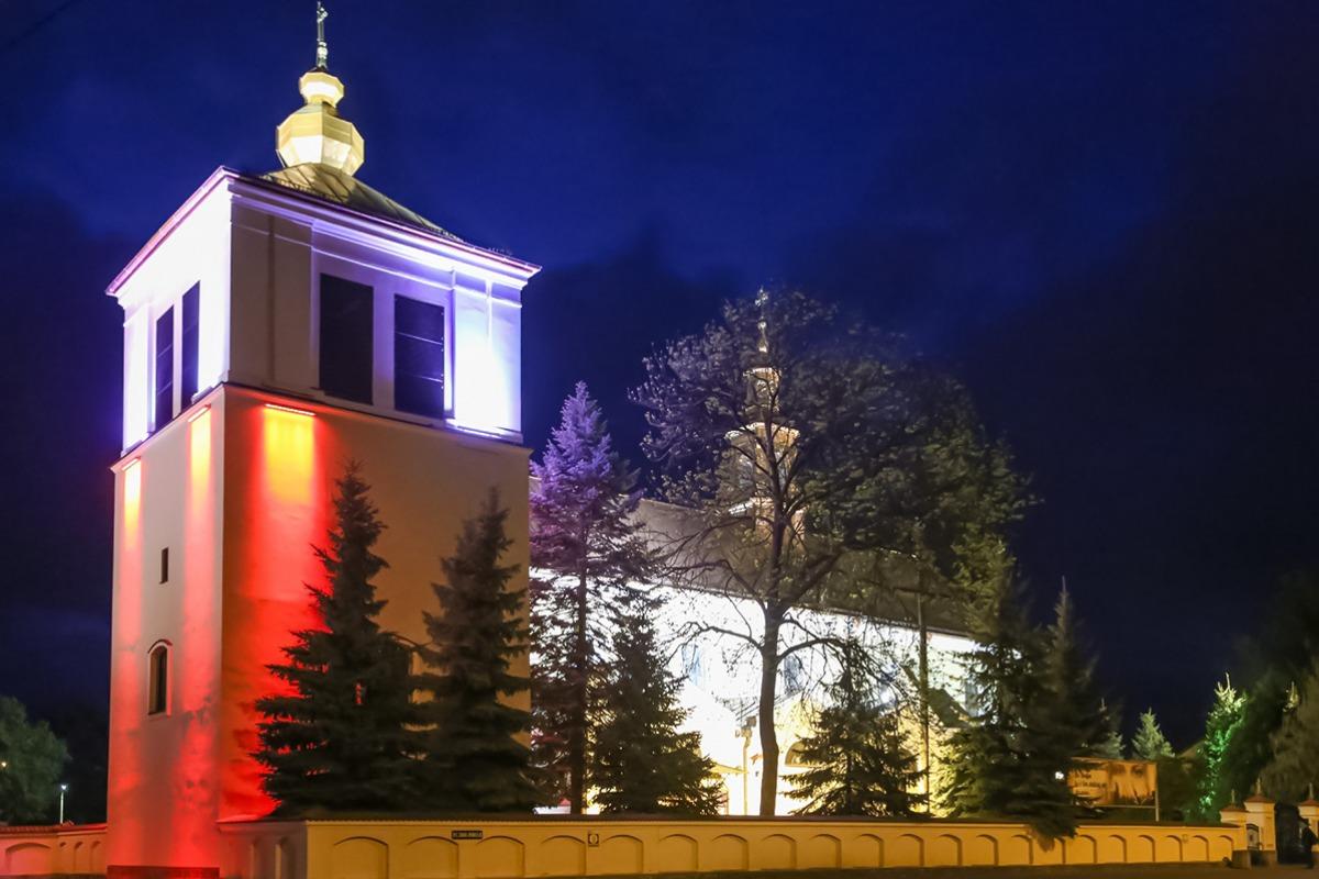 f90d80391625f Okolicznościowa iluminacja na Fortach Bema stała się już w Ostrołęce  tradycją. Dodatkowo dzisiaj, w dzień Święta Konstytucji 3 ...